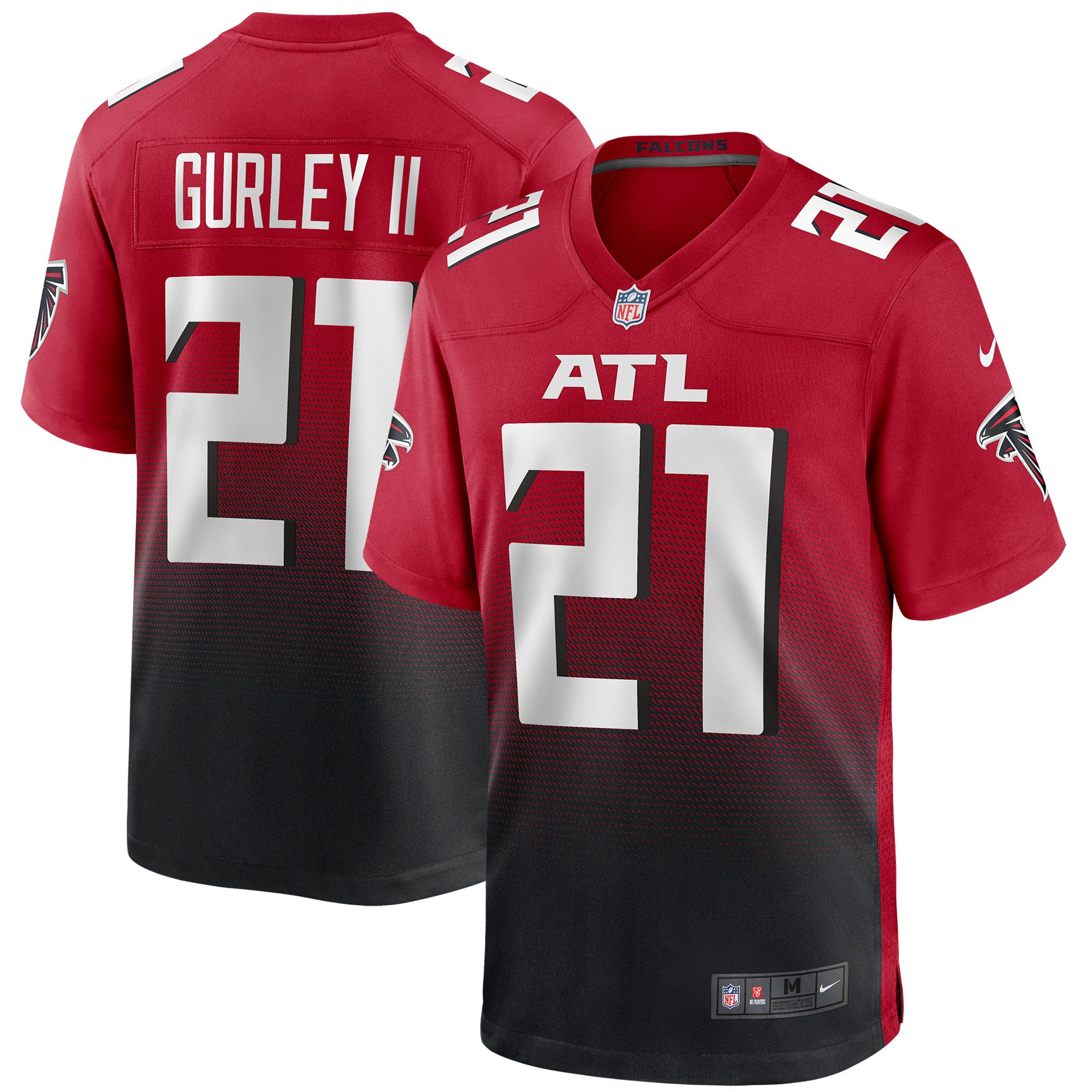 Men S Atlanta Falcons Todd Gurley Ii Nike Red 2nd Alternate Game Jersey In 2020 Atlanta Falcons Falcons Atlanta Falcons Football