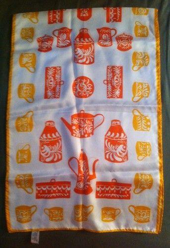 Vera Neumann Kitchen Print scarf