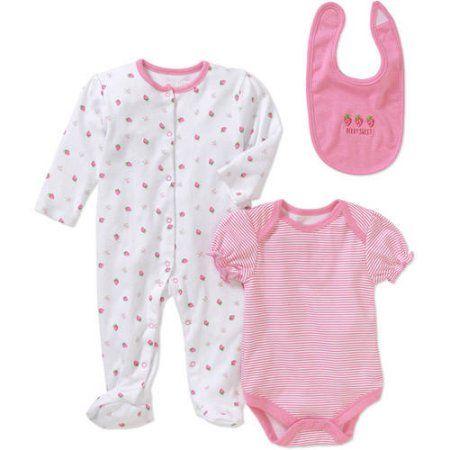 3 Months Zutano Baby-Girls Newborn Flamingo Cap Sleeve Bodysuit with Sunhat Set