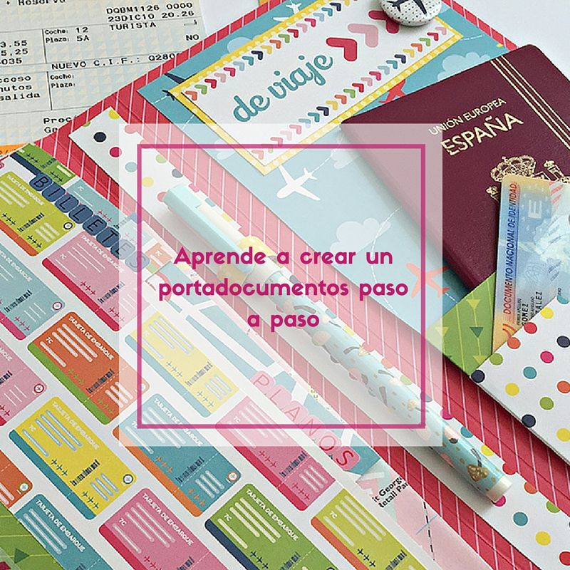 Portadocumentos scrapbooking http://anitaysumundo.com/portadocumentos-de-viaje-paso-a-paso/