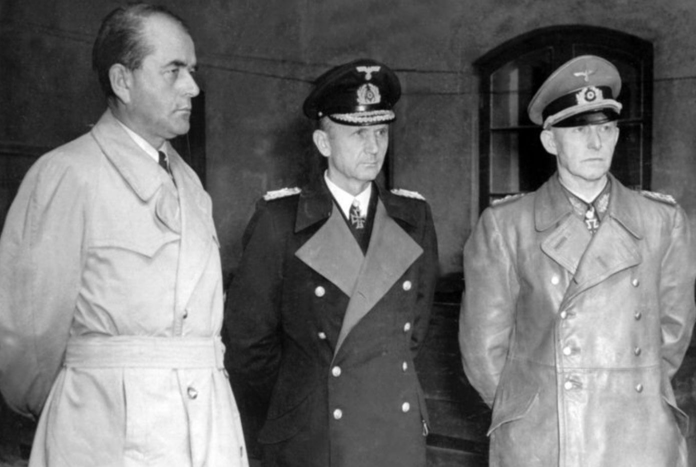 Rare : Albert Speer & Karl Doenitz Interview