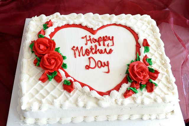 Happy Mother S Day Cake Mothers Day Cake Mothers Day Cakes Designs Wedding Anniversary Cakes