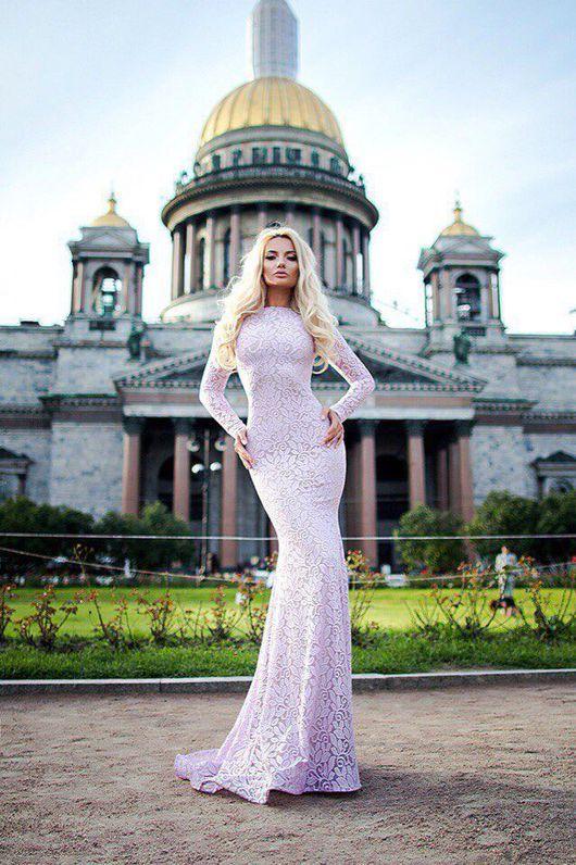 9dc51f99456 Wedding lace dress  Платья ручной работы. Ярмарка Мастеров - ручная работа. Купить  Платье из кружева