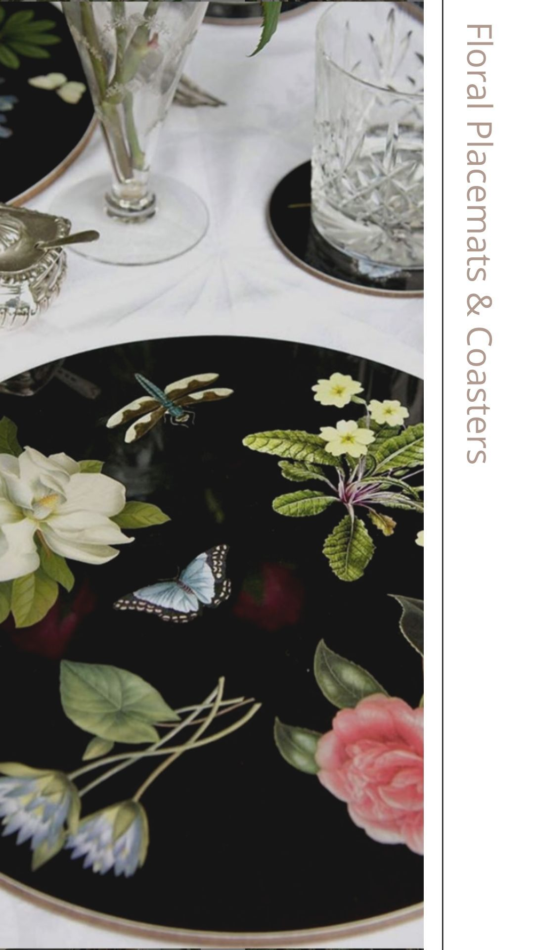 Floral Placemats Coasters At Scully Scully Floral Placemats Placemats Floral