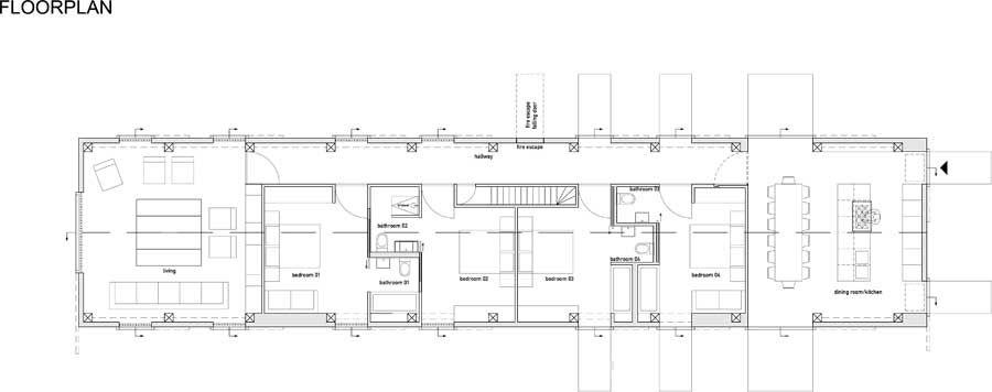 long barn house plans. Suffolk House  England UK MVRDV 3 studio Pinterest