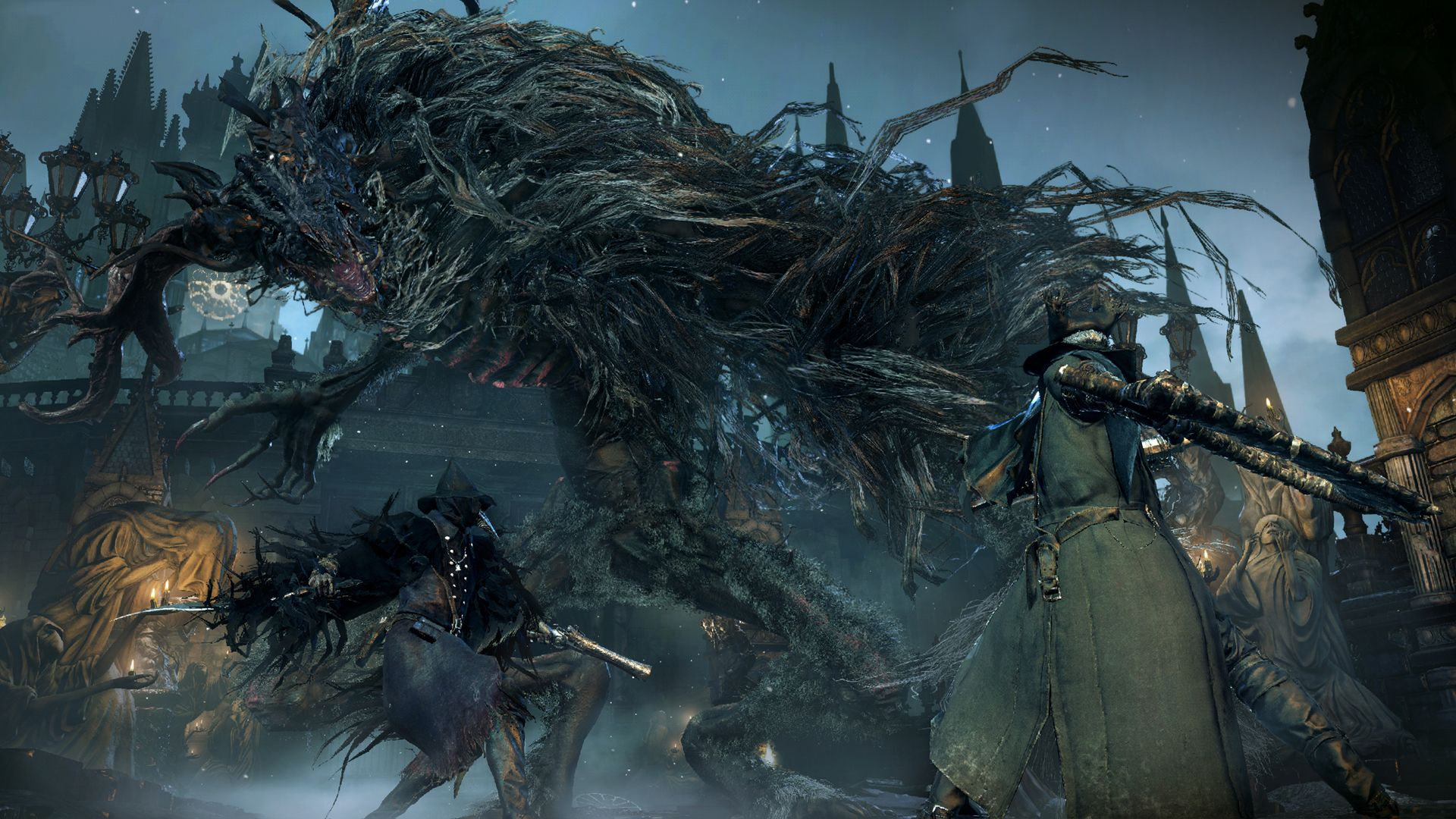 Cleric Beast Bloodborne Bloodborne Ps4 Online Video Games