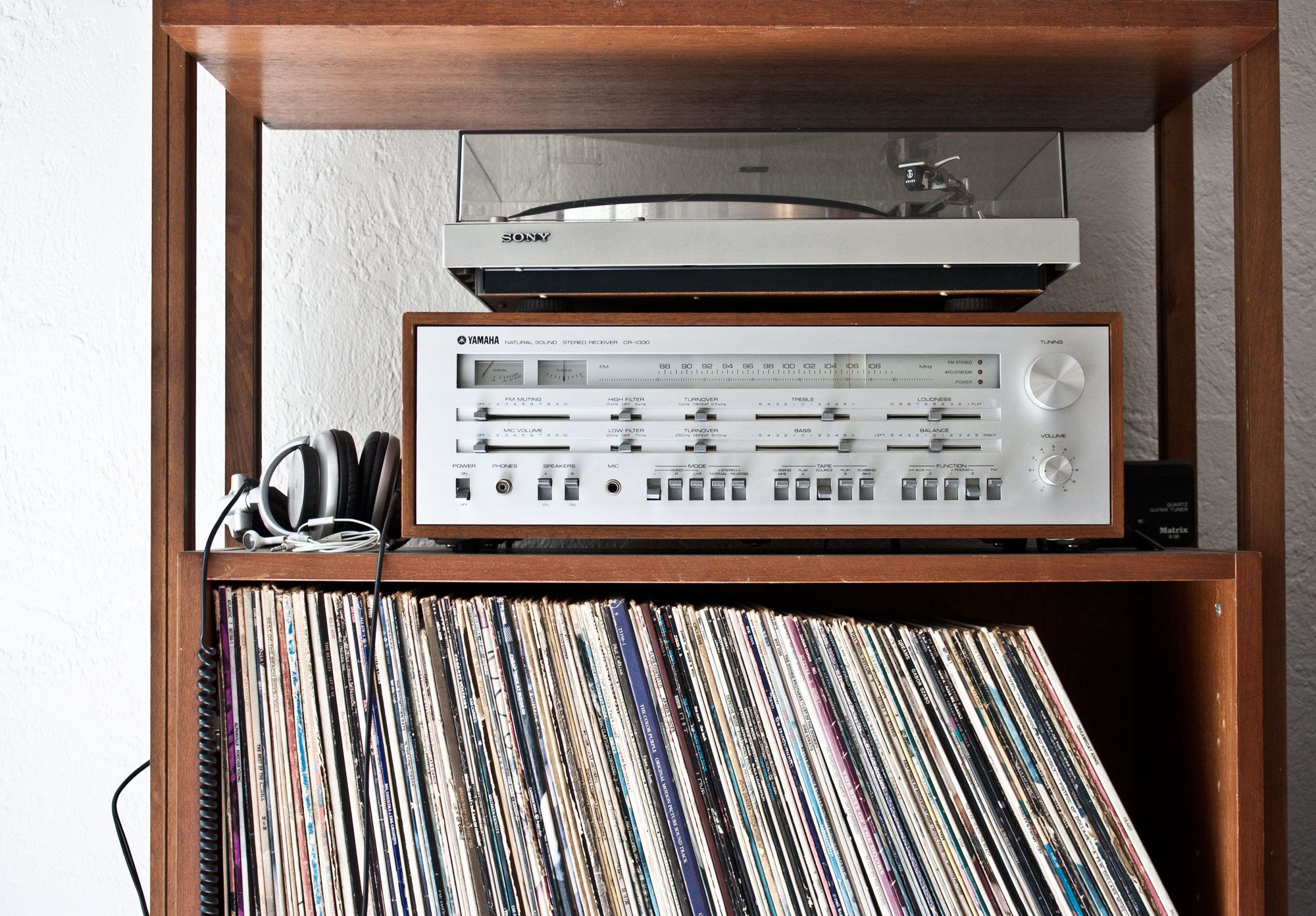 My Vintage Yamaha Stereo Sony Turntable Vintage Stereo Yamaha Vinyl 1970s Audio Room Vintage Stereo
