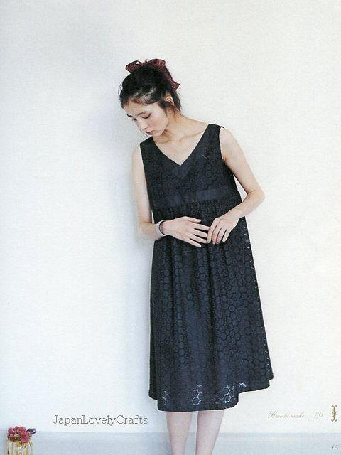ADULT COUTURE - ONE PIECE DRESS AND TUNIC BLOUSE BY YOSHIKO TSUKIORI ...