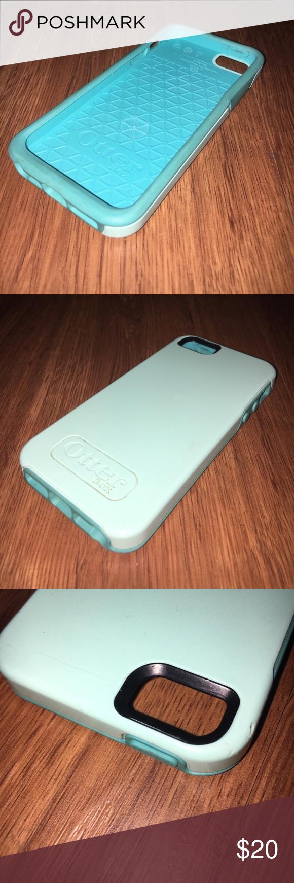 pick up d72ca cb194 OtterBox Symmetry Case iPhone 5/5s/SE Blue OtterBox Symmetry series ...