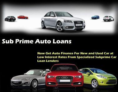 Subprime Auto Loans Guaranteed Approval Car Loans Car Finance