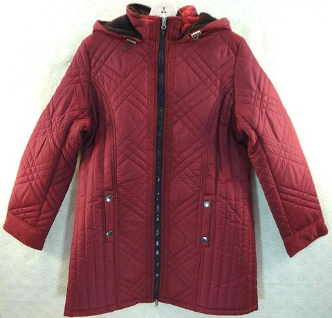 """""""KC Collections"""" Prince Seamed Quilted Hooded Jacket – Mustang Sally's"""