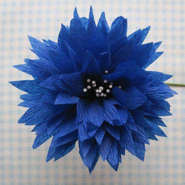 comment cr er une fleur en papier cr pon astuces et photos fleurs en papier. Black Bedroom Furniture Sets. Home Design Ideas