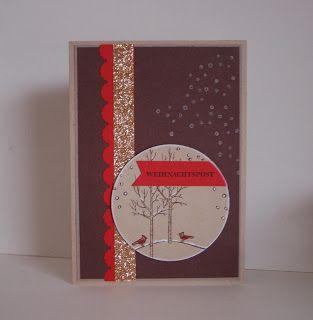 StampinUp!Big Shot Framelits Kreis-Kollektion, Eins für alles, Weihnachten, Weiße Weihnachten