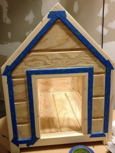 How To Build A Dog House Step By Step Pinterest Dog Houses Dog