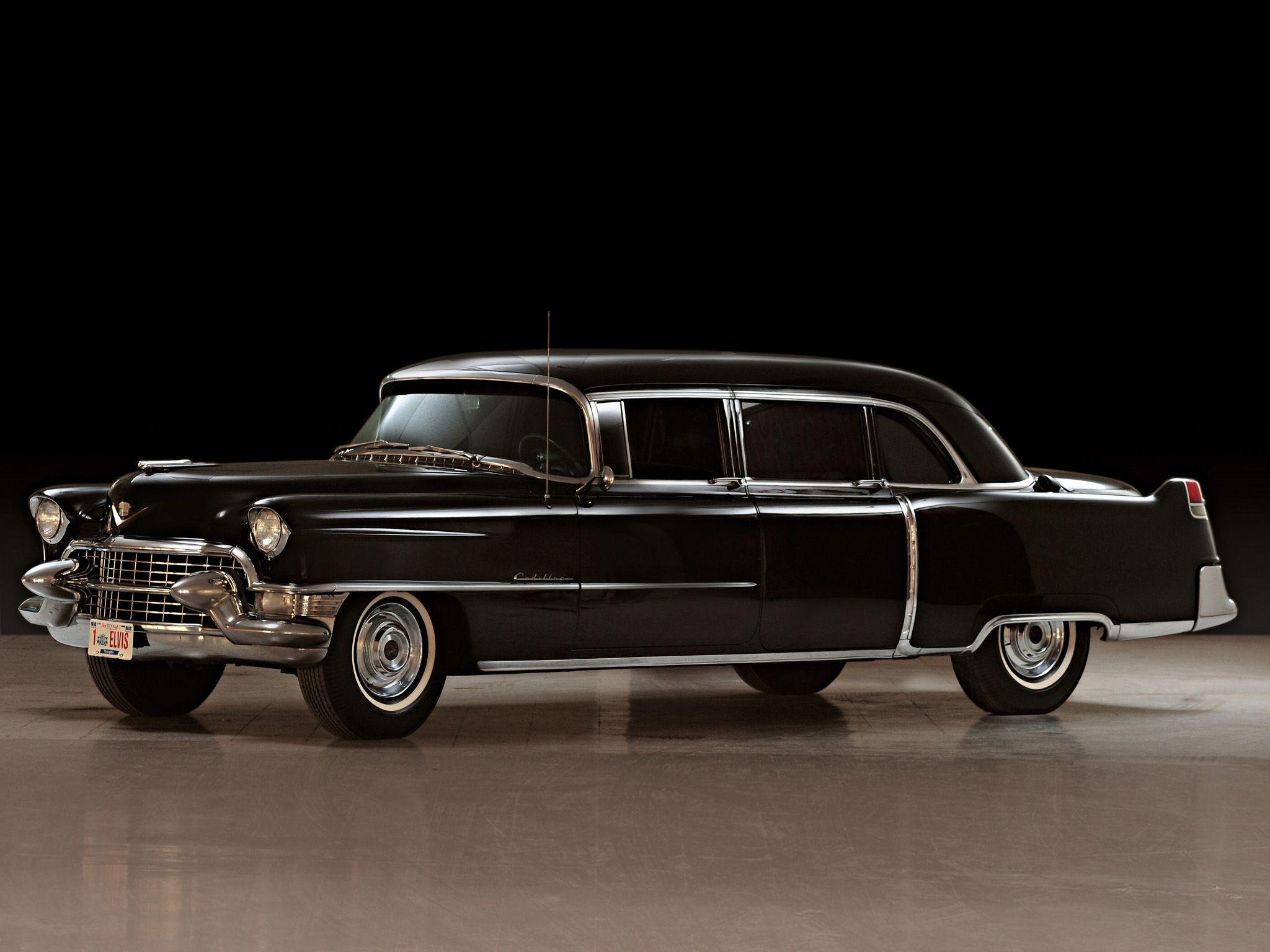 Cadillac fleetwood seventy five limousine 1955