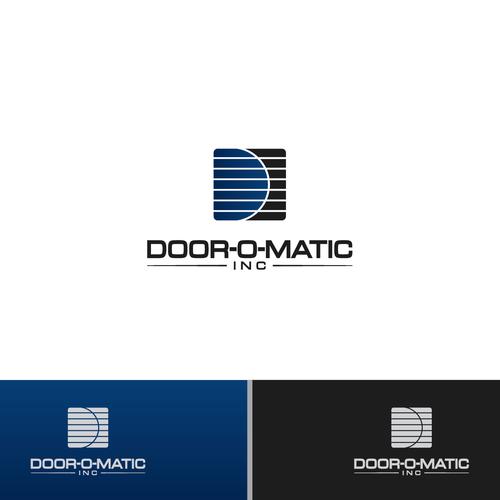 Door O Matic Inc Wanted Stylish Garage Door Company Design Construction Logo Construction Logo Design Garage Door Installation