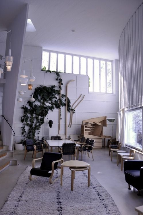 Alvar Aalto Studio  A Multiplicity Of Windows, Locations, Sizes, And  Orientations.