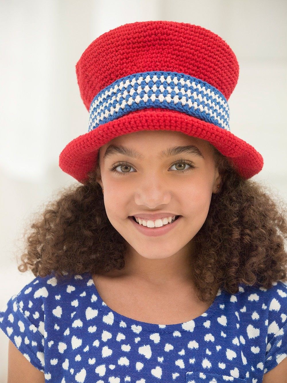 Independence Day Top Hat Pattern (Crochet) | To Be Moved | Pinterest