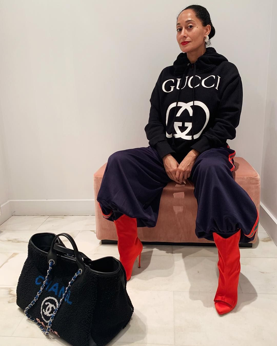 "95a7d1e7c21f Tracee Ellis Ross on Instagram  ""LABELED UP ~  thegirlwholovestoshop ..."