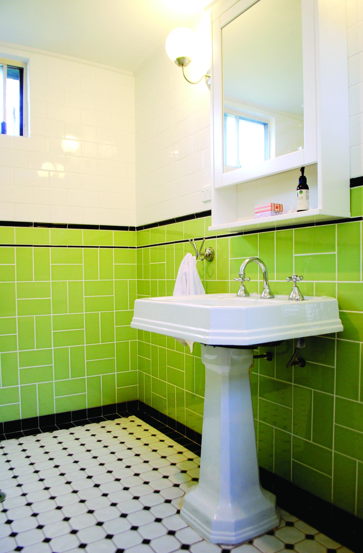 Tchoupi Salle De Bain ~ Our Gorgeous Art Deco Bathroom Tiling By Mountain Top Tiling