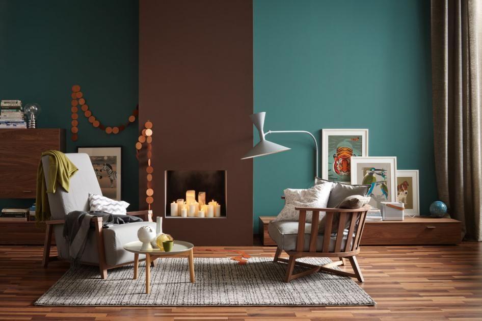 Wissen Das 1x1 des Dekorierens Geschafft, Wohntrends und Marmor - wohnzimmer farben braun grun