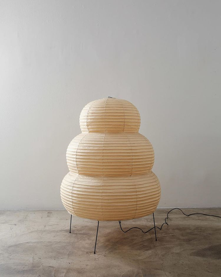 Akari Light Sculptures By Isamu Noguchi Are Considered Icons Of