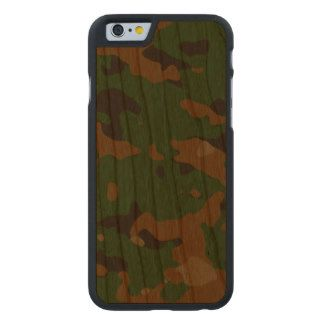 Military camouflage patterns v12 carved® cherry iPhone 6 slim case