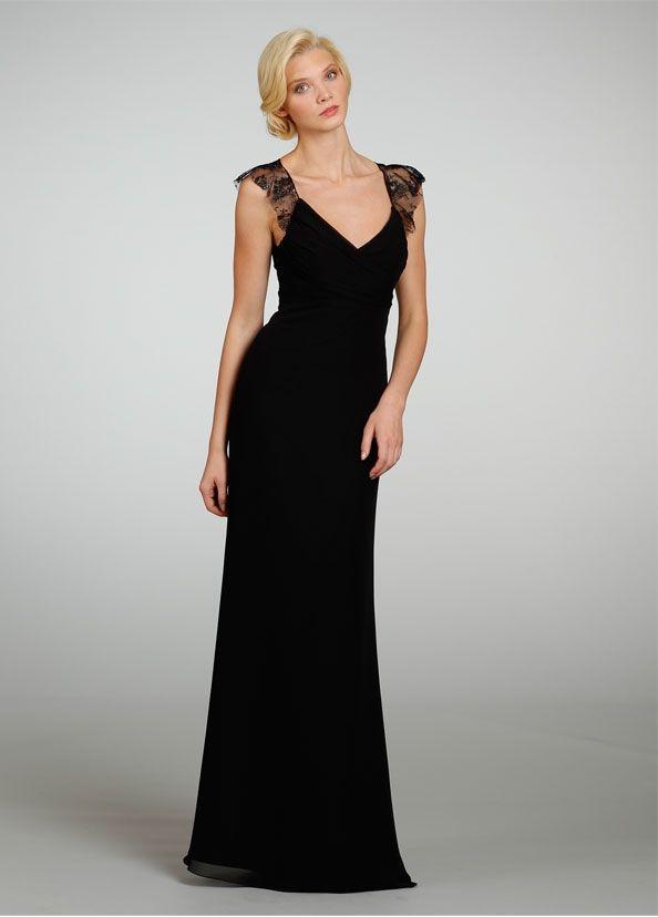 Jim Helm Lace Bridesmaids Gowns Straps Design Bridesmaid Dresses Evening