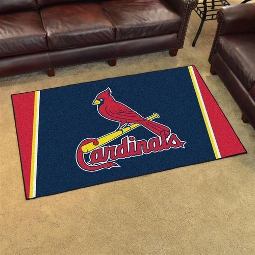 Saint Louis Cardinals St. Area Rug Carpet Flooring 4x6