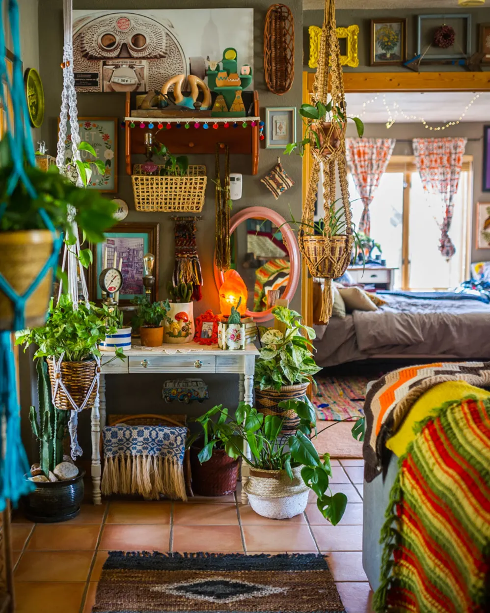 The Most Maximalist Bohemian Home Just Might Be on This ...