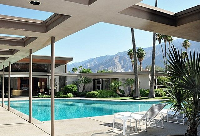 Frank Sinatra House Twin Palms By E Stewart Williams Mid