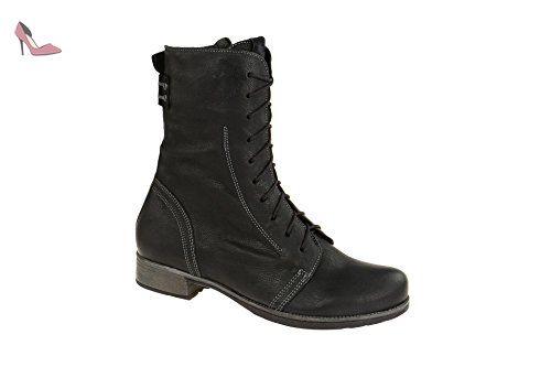 Denk, Desert Boots Femme, Rouge (Rosso/Kombi 72), 37 EUThink