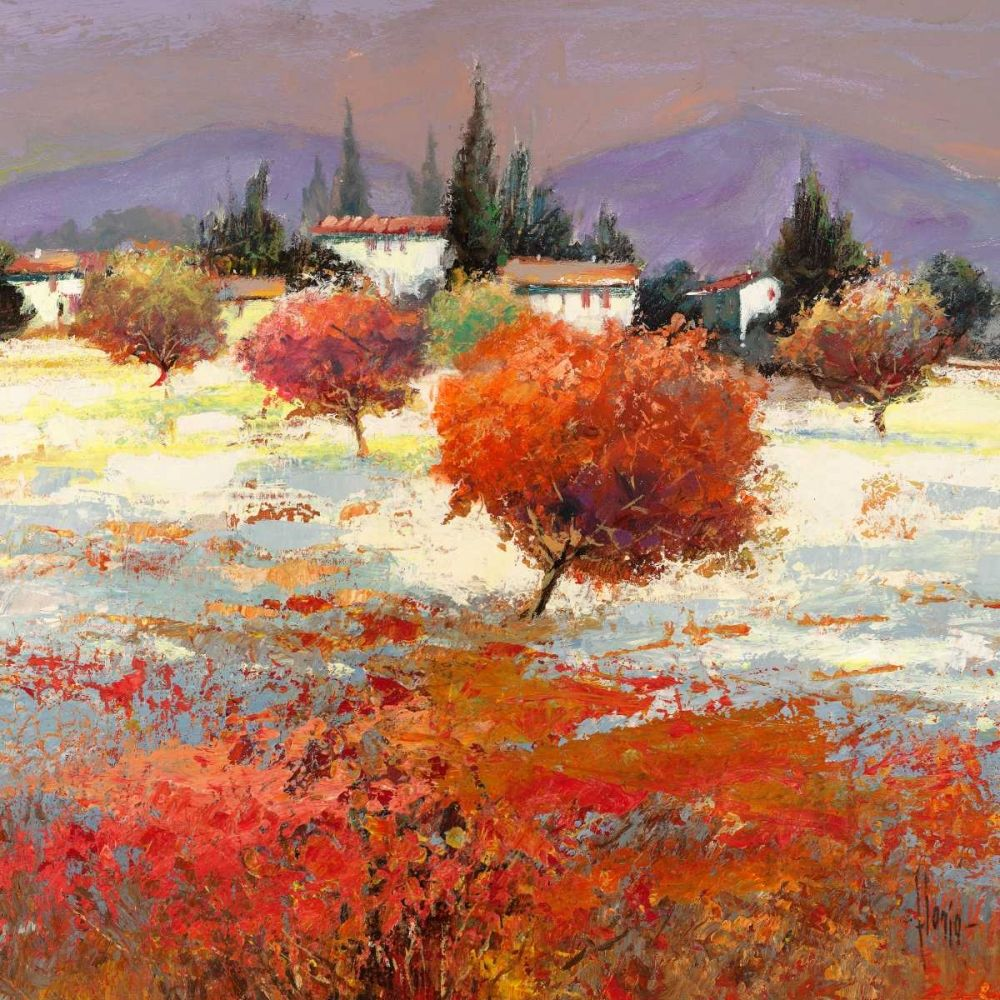 toskana idee farbe malerei kunstdrucke auf leinwand fotoleinwand online bestellen druckbilder