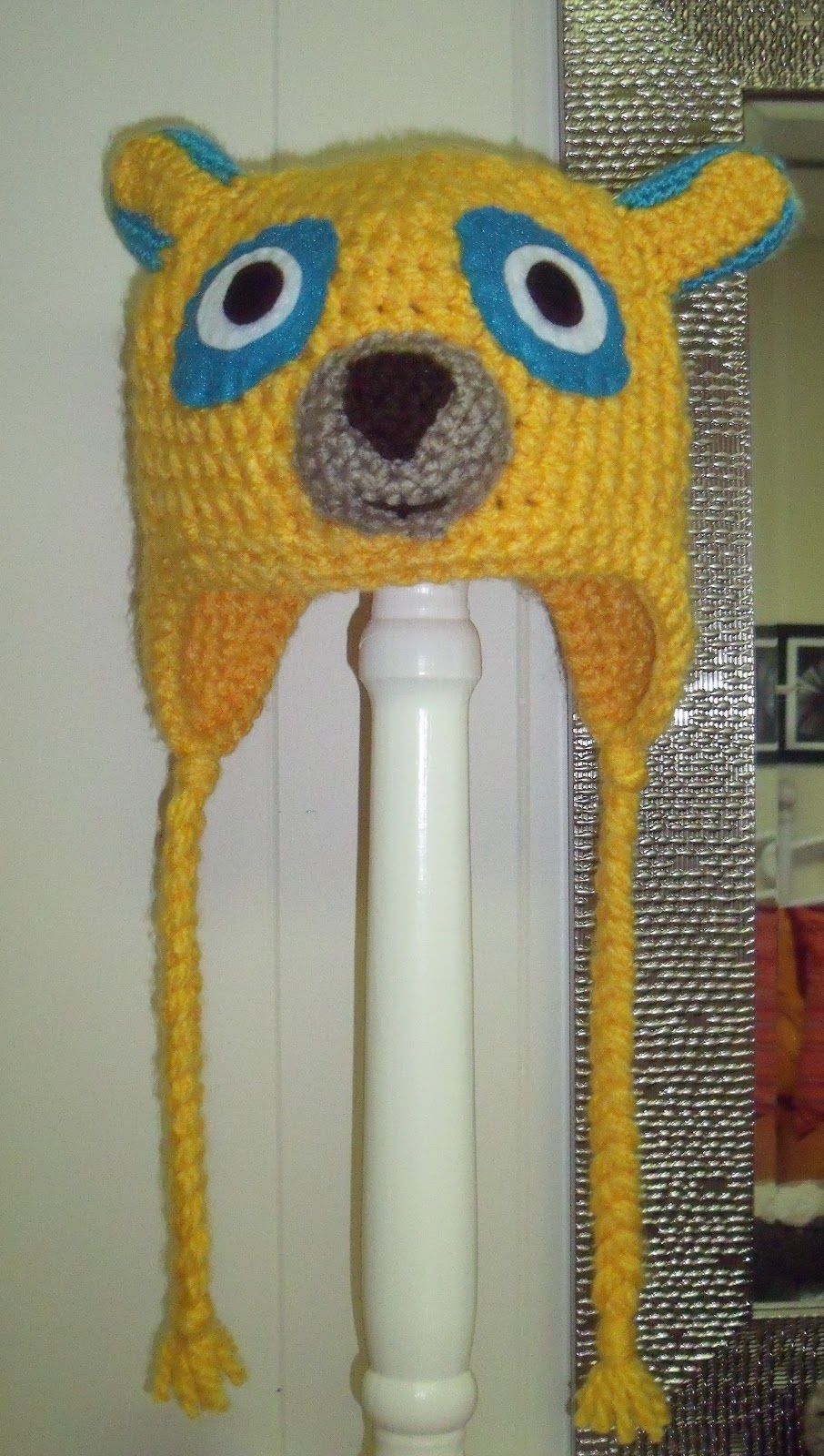Special Agent Oso, crochet hat, kids crochet | Things I\'ve made ...