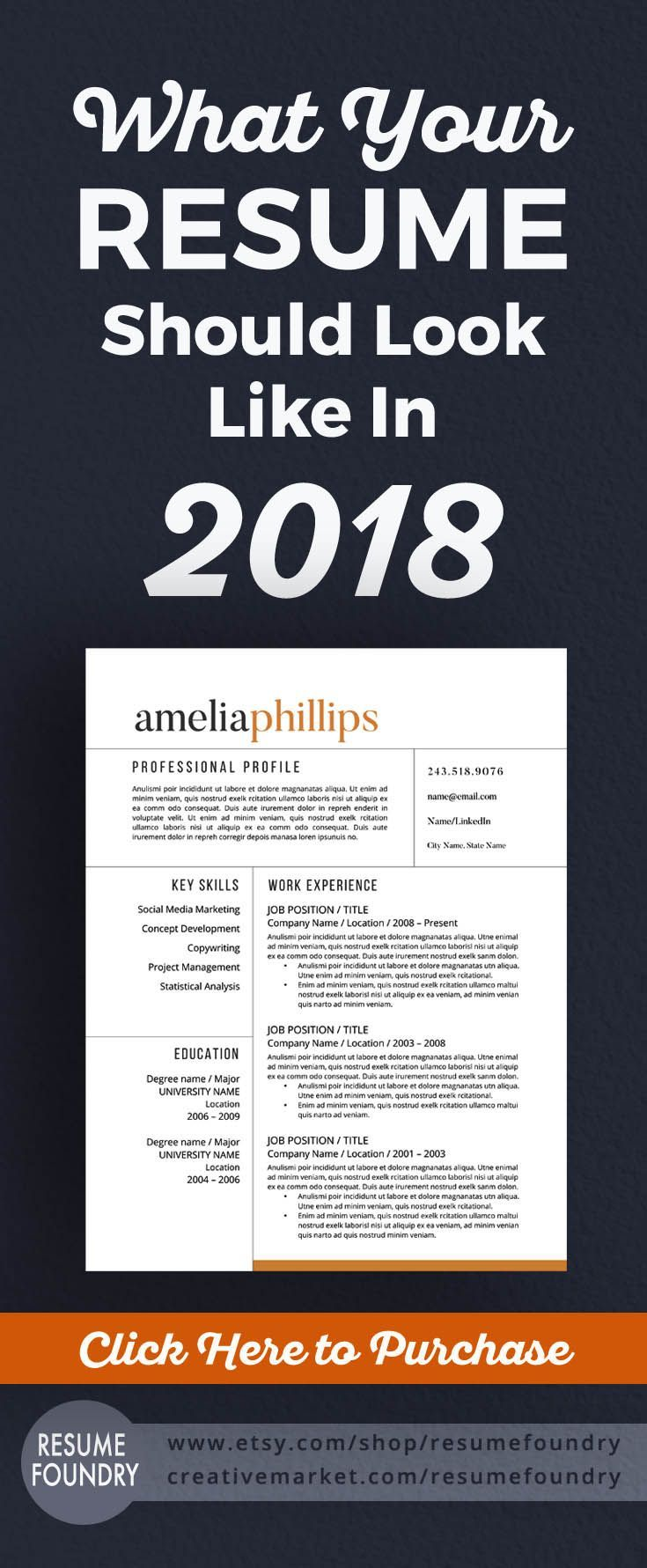 time to update your resume for 2018  we guarantee your