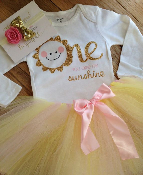 dde779aa9 This gorgeous you are my sunshine outfit gives a more classy play on the you  are