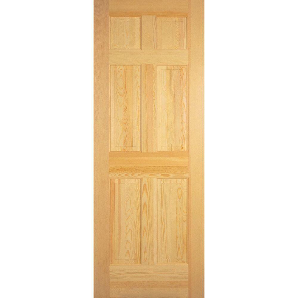 6 Panel Pine Sliding Closet Doors Httptenerife Top