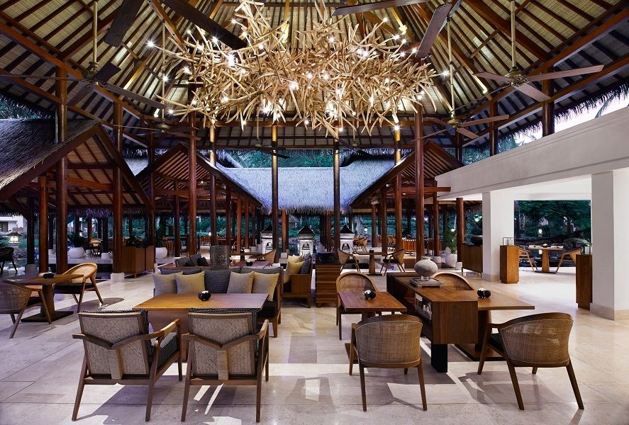 Pesona Lounge Exudes The Look And Feel Of A Resplendent Living Room At Grand Hyatt Bali
