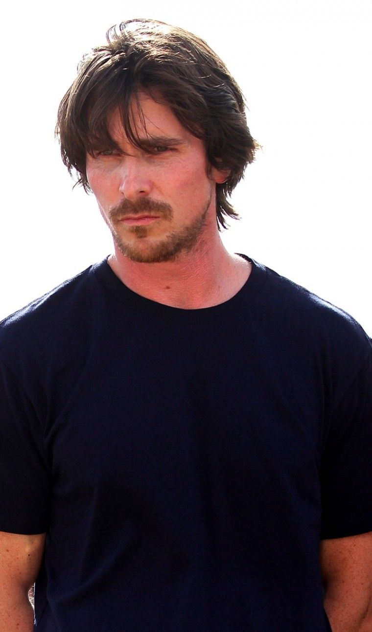 Christian Bale...love the messy look