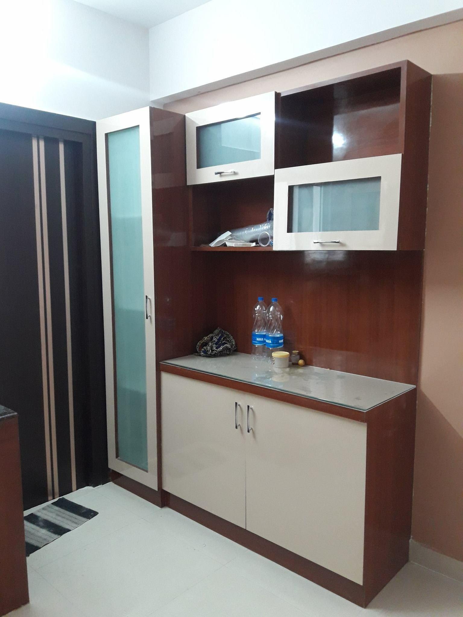 Crockery Unit False Ceiling Living Room Crockery Unit Living Room Furniture Layout