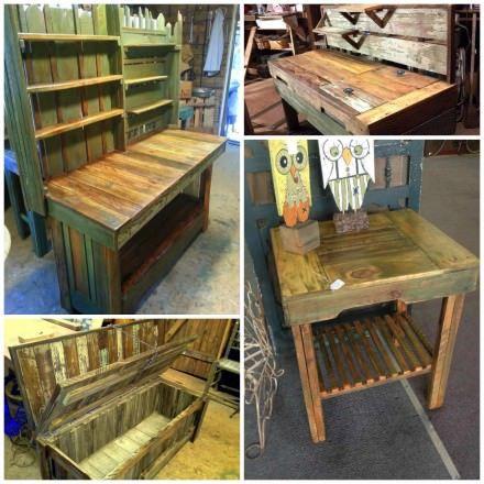 Rustic Pallet Furniture