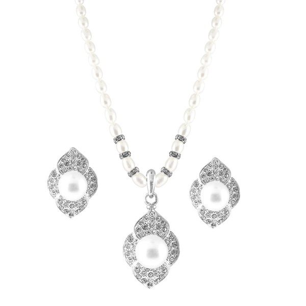 The JPearls Cutie-Pie Pendant Set has a 10% off as part of