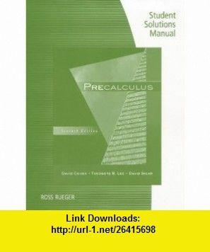 Student solutions manual for cohenleesklars precalculus 7th student solutions manual for cohenleesklars precalculus 7th 9781111428242 david fandeluxe Image collections
