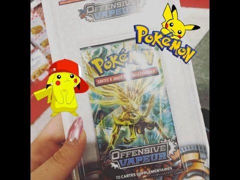 Opening French Pokemon Cards In Paris Pokemon Cards Pokemon