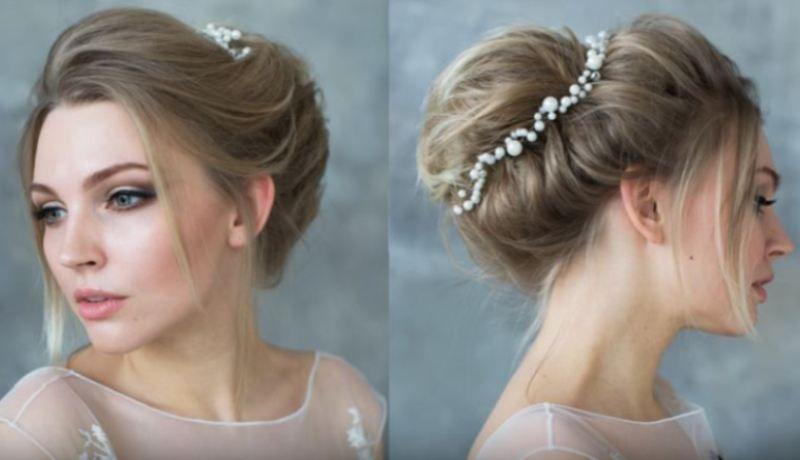 Lima Inspirasi Wedding Hairstyle Untuk Pemilik Rambut Pendek