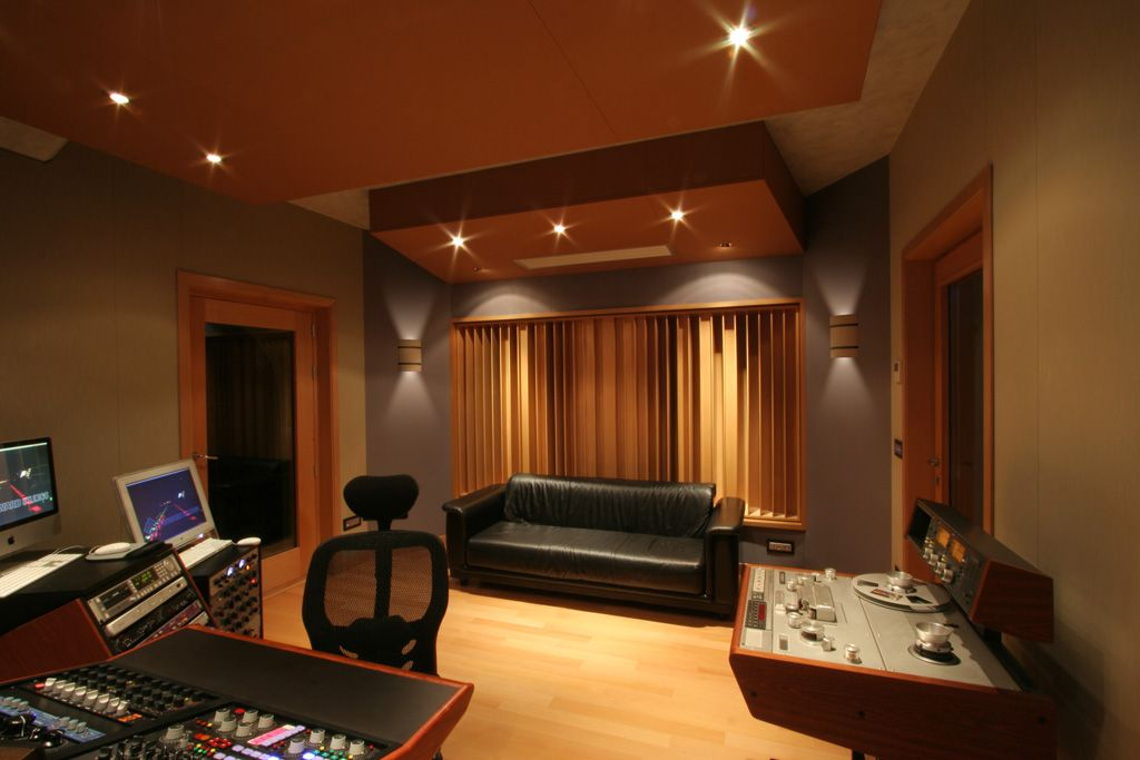 Forward Studios Aurelius   FM Design   Recording Studio Design