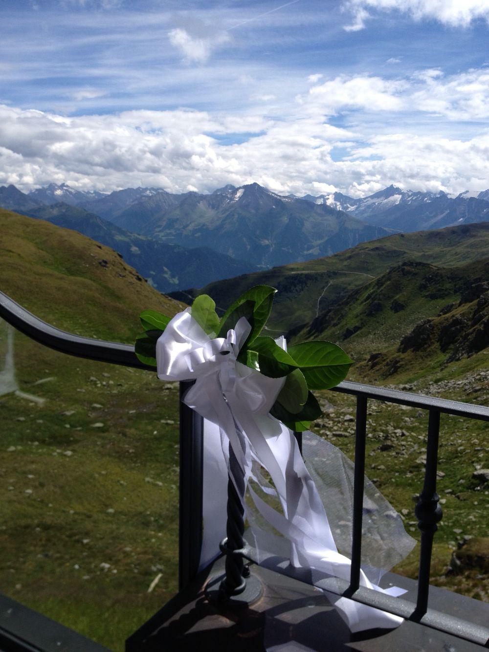 Hochzeit am Berg im Zillertal