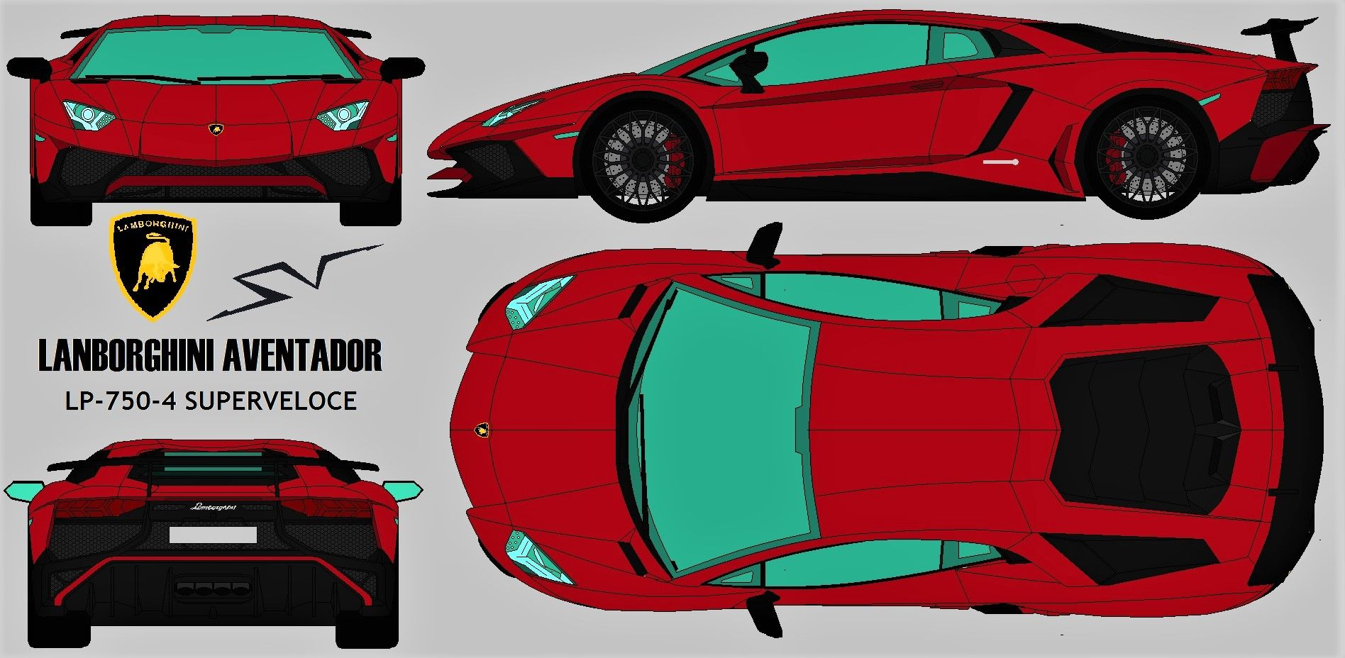 20 Lambo Car Blueprint Pictures And Ideas On Weric