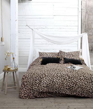 H M Duvet Set Double 29 Duvet Sets French Style Bed Leopard Print Bedding