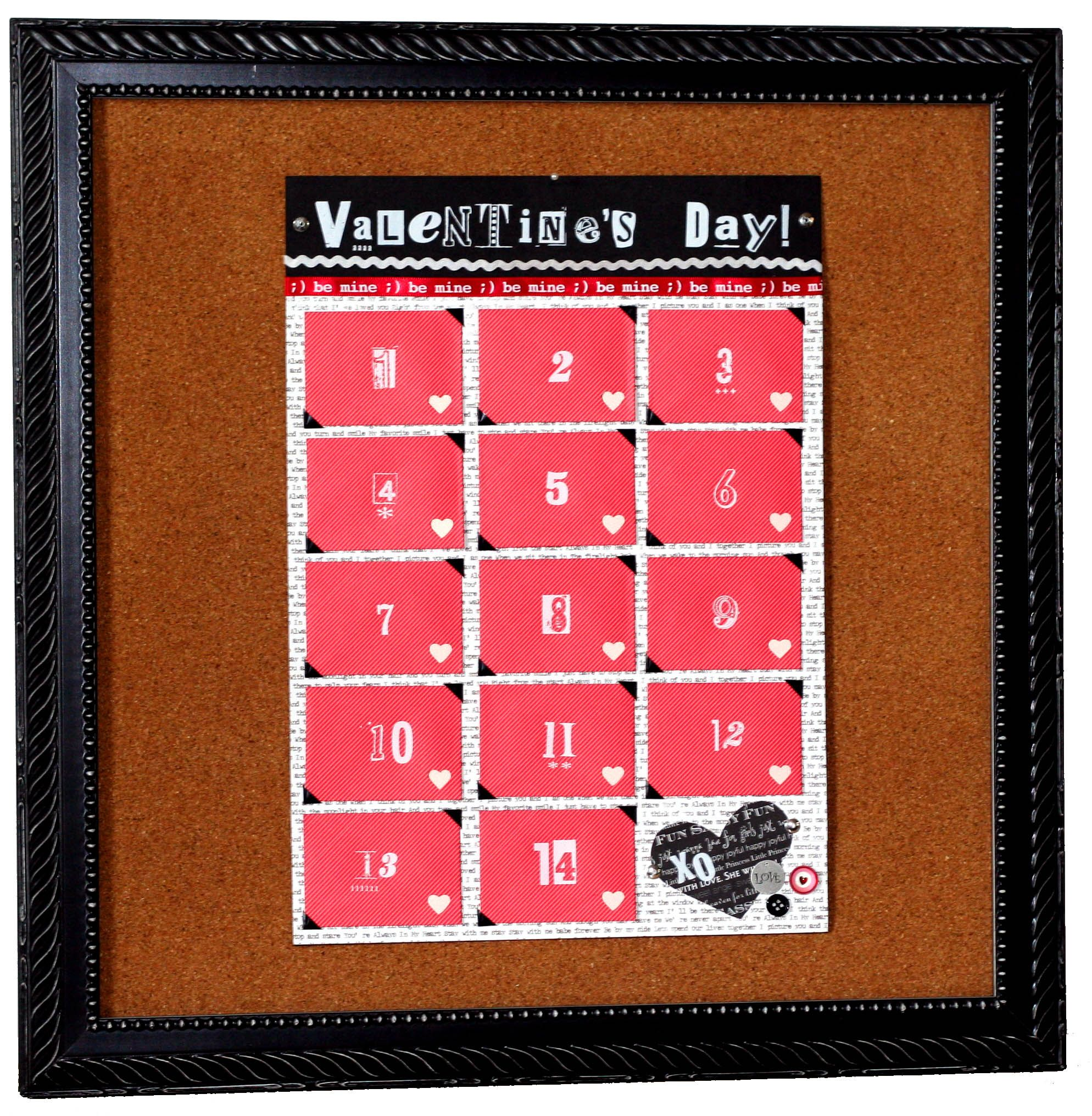 Valentines Day Advent Calendar Cute Way To Express Love